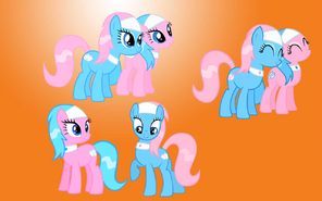 FANMADE Spa Ponies wallpaper