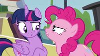 "Pinkie Pie ""what are you doing?"" S4E22"