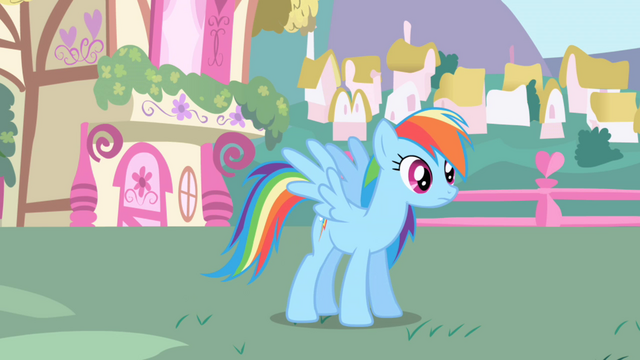 File:Rainbow Dash after meeting Twilight S1E01.png