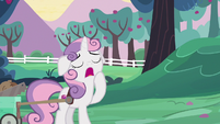 Sweetie Belle yawning S6E14