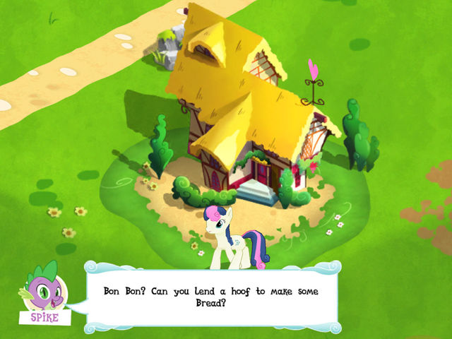 File:Bon Bon and her house MLP Game.png