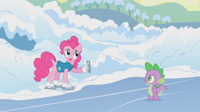 File:Pinkie Pie points Twilight in the right direction S1E11.png