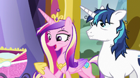 "Princess Cadance ""she'll calm right down"" S7E3"