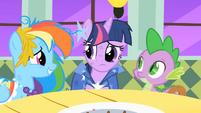 Twilight worries that Princess Celestia is upset S01E26