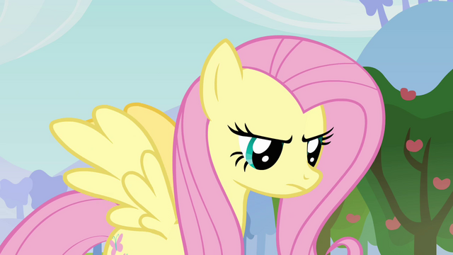 "File:Fluttershy shocked ""such language!"" S03E10.png"