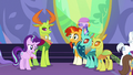 Starlight accepting praise from her friends S7E1.png