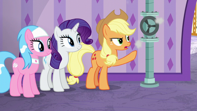 "File:Applejack ""you've got a small leak"" S6E10.png"