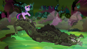 Cragadile emerges from the creek S4E02.png