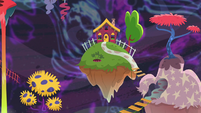 Discord's house in Chaosville S7E12