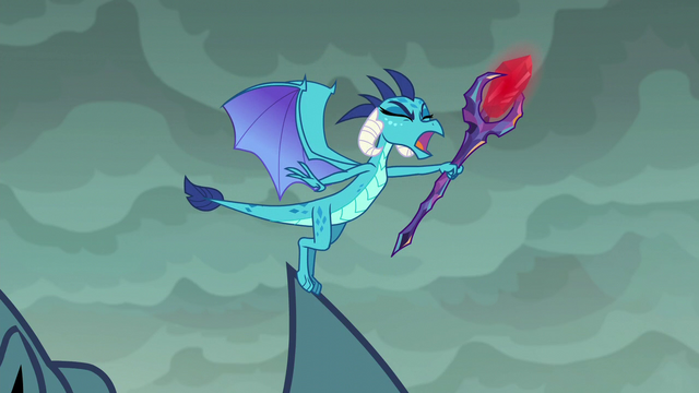 "File:Ember shouting ""agree with him!"" S6E5.png"