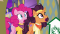 Pinkie Pie and Saffron in stunned shock S6E12.png