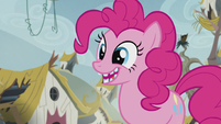 Pinkie with broken teeth S5E8