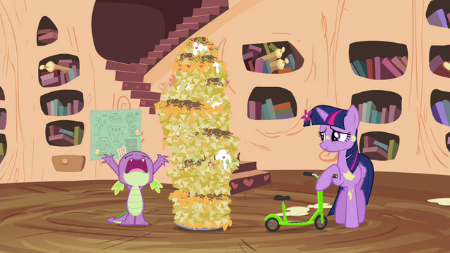 """File:Spike frustrated """"aw, come on!"""" S4E15.png"""
