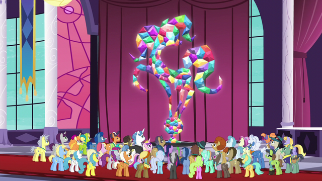 File:Citizens of Equestria statue fully restored S5E10.png