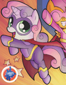 Comic issue 15 Superhero Sweetie Belle