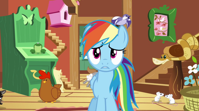"File:Rainbow Dash ""these animals don't listen"" S03E13.png"