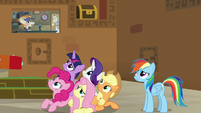 Mane Six looking disappointed S7E2