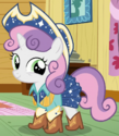 Sweetie Belle square dancing outfit ID S6E4