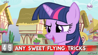 """Hot Minute with Twilight Sparkle """"Rainbow Dash makes everything look so easy"""""""