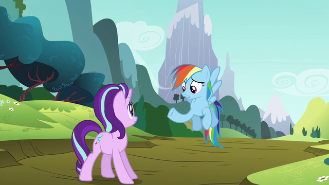 "File:Rainbow Dash ""you coming or what?"" S6E6.png"