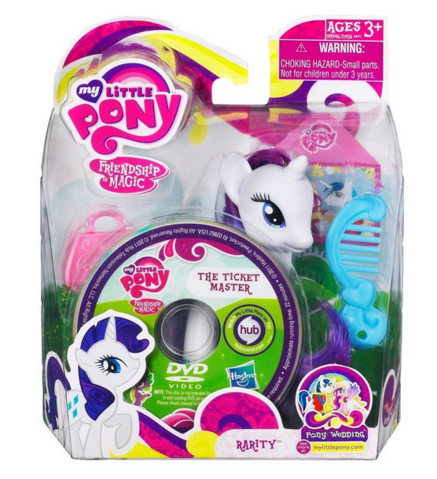 File:Rarity Pony Wedding Playful Pony toy with DVD package.png