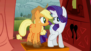 Rarity points out Applejack's muddy hooves S1E08.png