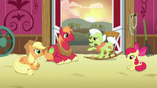 "File:Granny Smith ""you're darn tootin'!"" S6E23.png"