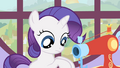 Filly Rarity making costumes S1E23.png