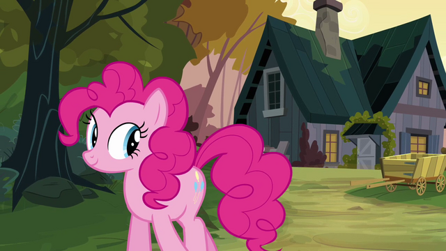 File:Pinkie Pie walking away from Cranky's house S02E18.png