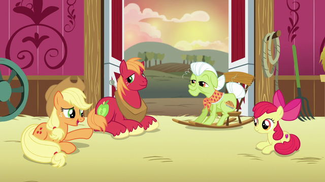 """File:Applejack """"a lifelong lesson about bein' honest"""" S6E23.png"""
