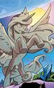 Comic issue 35 Statue Celestia