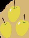 Golden Delicious cutie mark crop S1E01.png