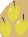 Golden Delicious cutie mark crop S1E01
