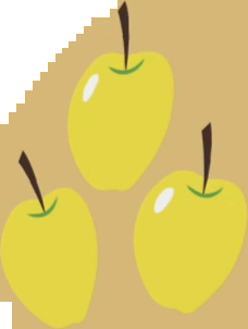 File:Golden Delicious cutie mark crop S1E01.png