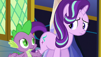Spike asking Starlight what's wrong S6E1