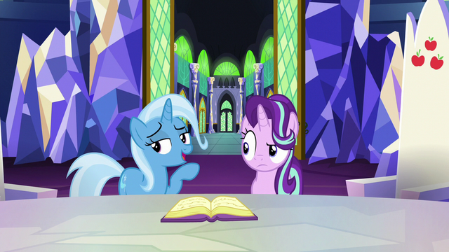 "File:Trixie ""cutie marks took away your friend"" S7E2.png"