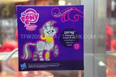 Back of Zecora's toy package SDCC 2012