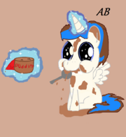 FANMADE User Zakattacks as a foal