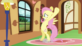 Fluttershy totally not reusing animation poses S2E21.png