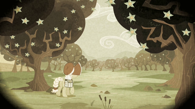 File:Granny Smith among blooming Zap Apple trees S2E12.png