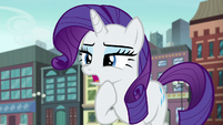 "Rarity ""without ruining the surprise"" S6E3"