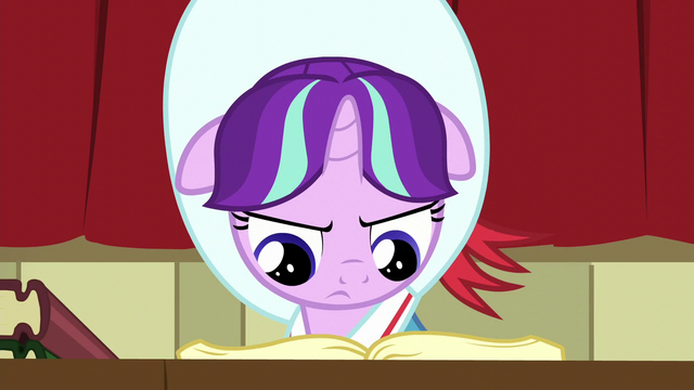 File:Young Snowfall hitting the books S6E8.png