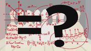 A mathematical equation equals question mark S5E9