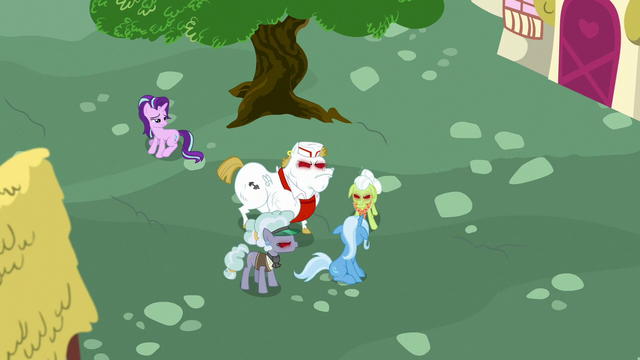 File:Anger-infected ponies surround Trixie S7E2.png