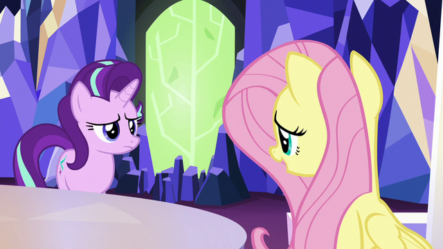 "File:Fluttershy ""they would've sent the invitation"" S6E25.png"