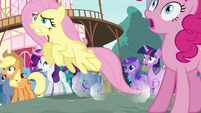 Fluttershy springs into action S4E16