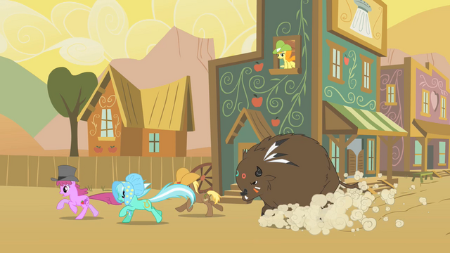 File:Golden Harvest In Window Buffalo Chasing Ponies S1E21.png