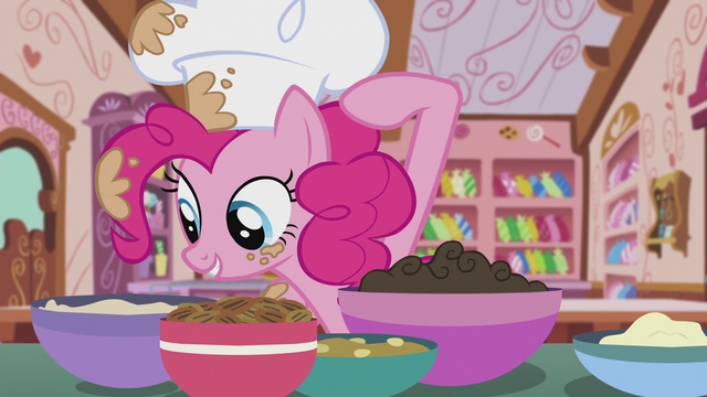 File:Pinkie pointing at chocolate ganache S5E8.png