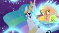 Princess Celestia observes Discord's dream S7E10.png