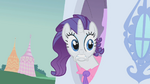Rarity finds Opal up in a tree S01E14